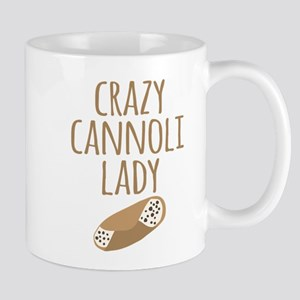 Crazy Cannoli Lady Mugs